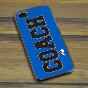 Coach iPhone 5 / 5S Case - Blue