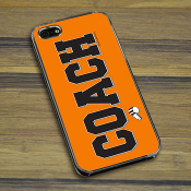 Coach iPhone 5 / 5S Case - Orange