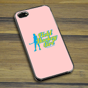 Field Hockey iPhone Case Field Hockey Girl -LP