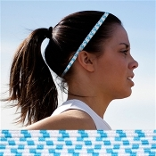 Bunji BAND Elastic Headbands for Athletes - Hydrangea