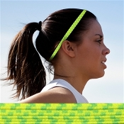 Bunji BAND Elastic Headbands for Athletes - Sunflower
