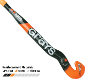 GRAYS GX5000 Goalie Composite Field Hockey Stick