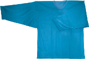 Solid Color Tricot Goalie Shirt