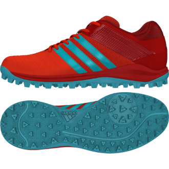 Adidas SRS 4M Hockey Shoes - Red 2017
